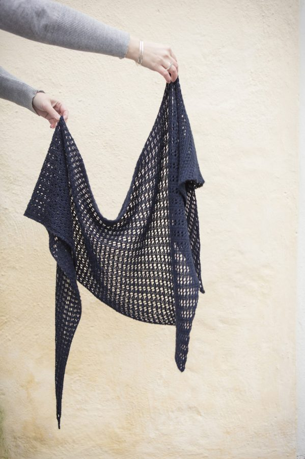 Herald shawl pattern from Woolenberry