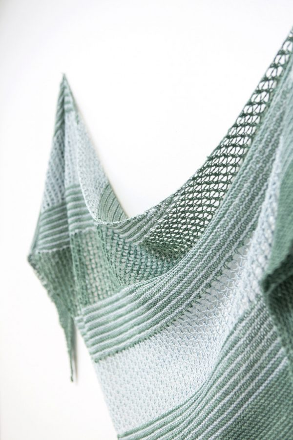 Sea Grass shawl pattern from Woolenberry