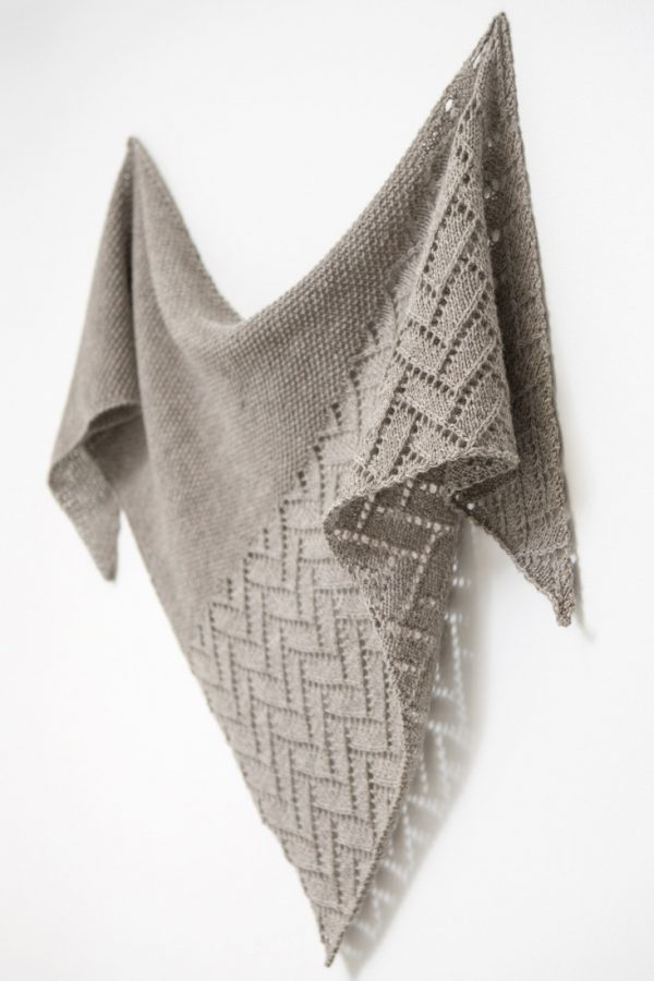 Bough shawl pattern from Woolenberry