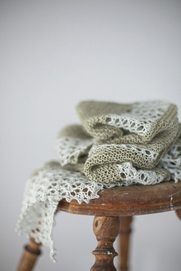 Spring Bloom shawl pattern from Woolenberry
