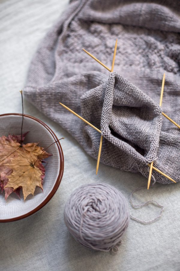 Sweater Weather knitting pattern from Woolenberry