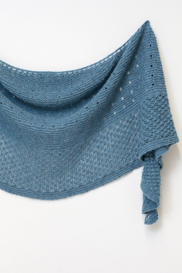 Winter Berries shawl pattern from Woolenberry