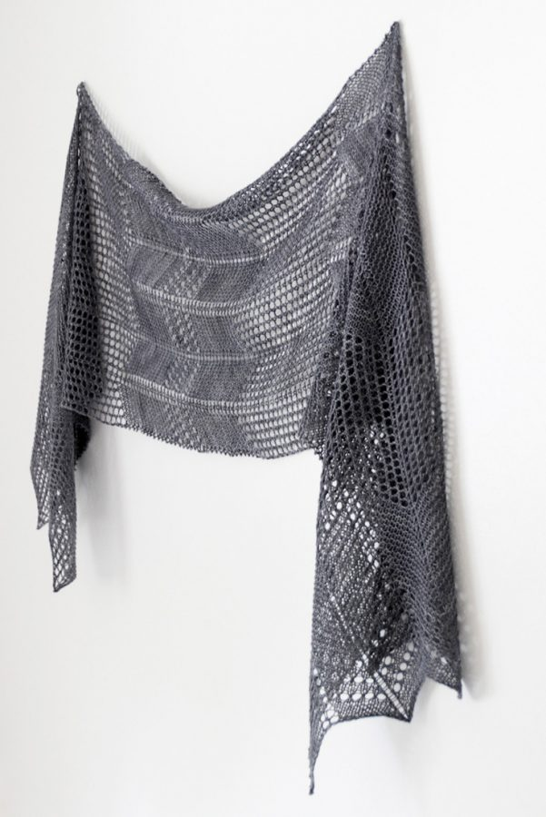 Winds of Autumn shawl pattern