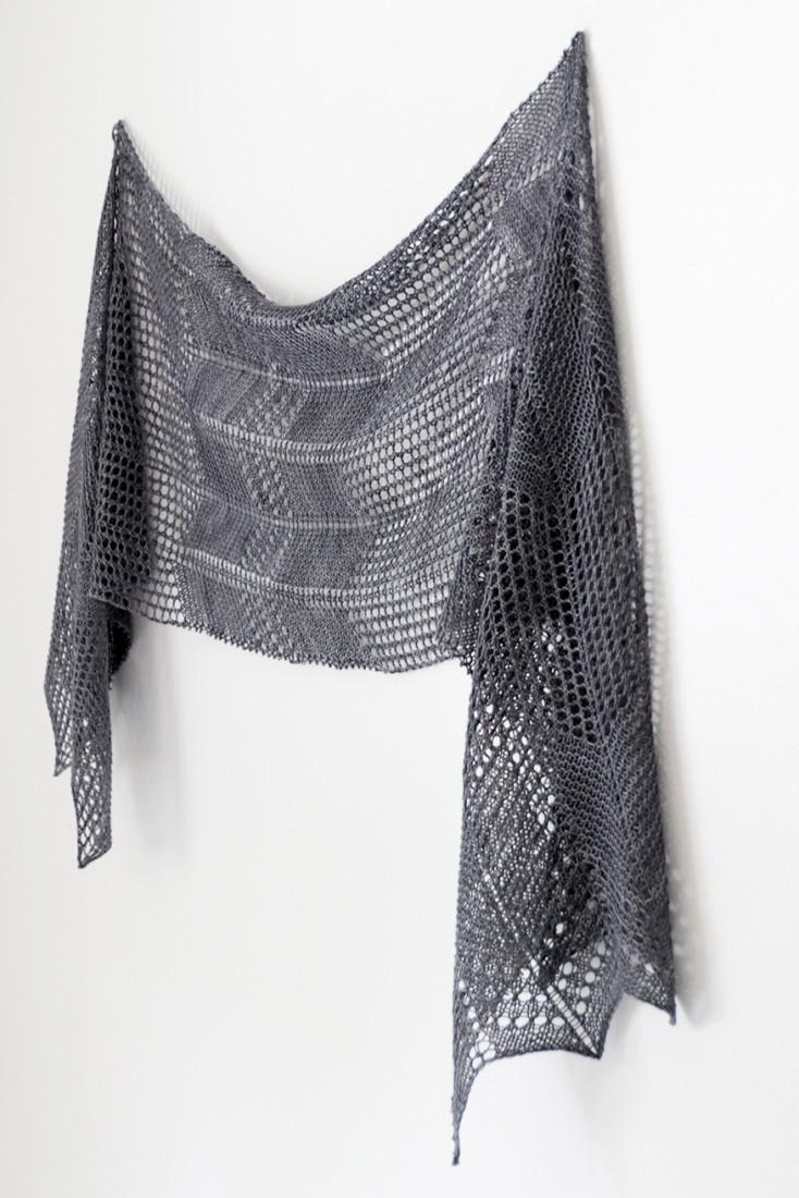 Winds of Autumn shawl pattern