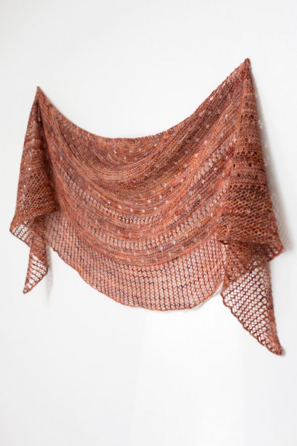 Drops of Joy shawl pattern from Woolenberry