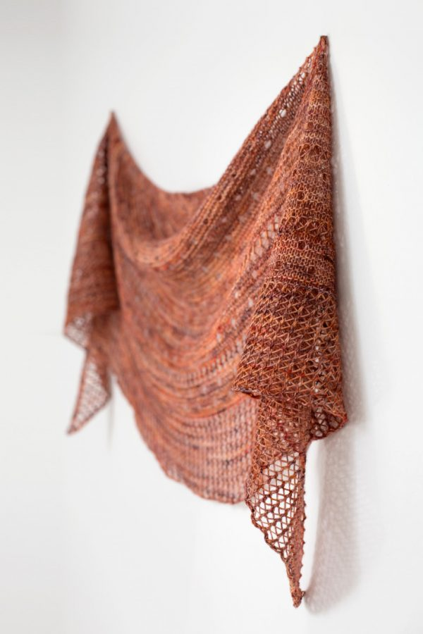 Drops of Joy shawl pattern from Woolenberry