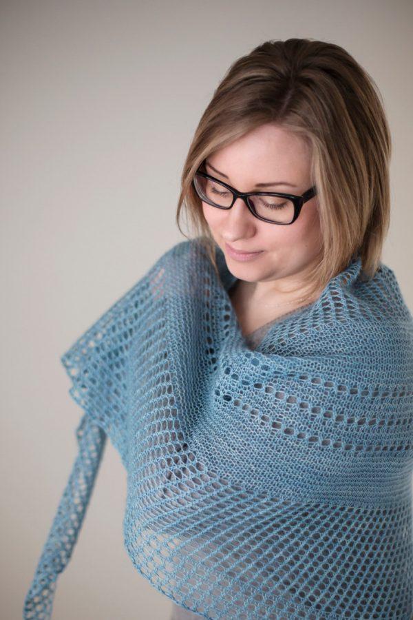 Antarktis shawl pattern from Woolenberry