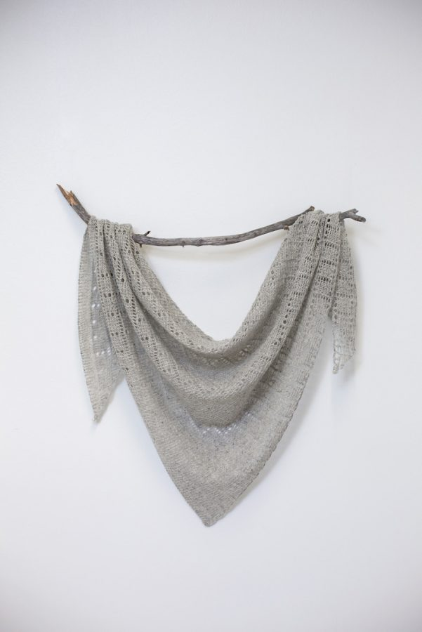 Comfort Zone shawl pattern from Woolenberry