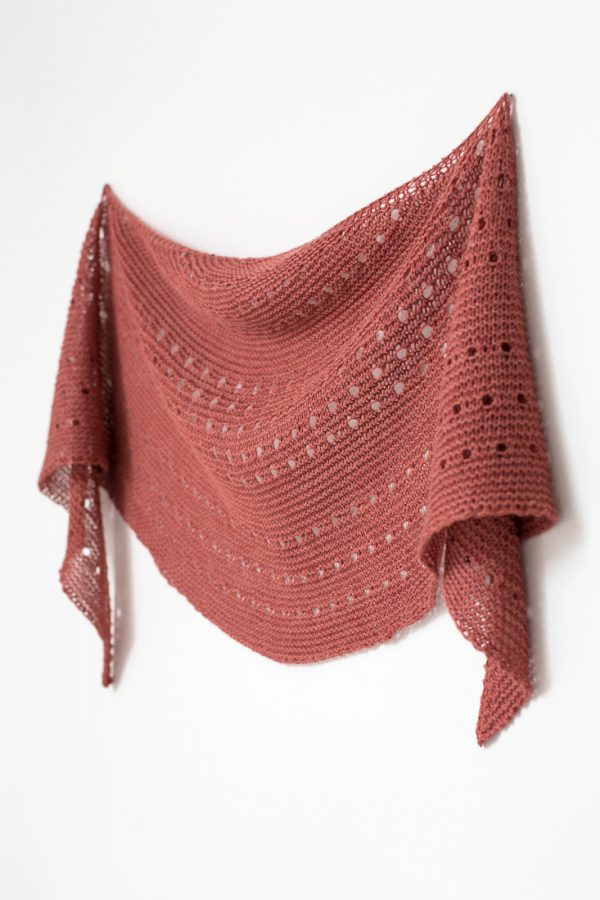 Melodia shawl pattern from Woolenberry
