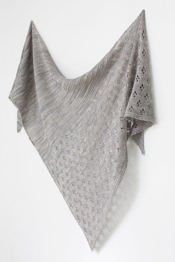 Seine shawl pattern from Woolenberry