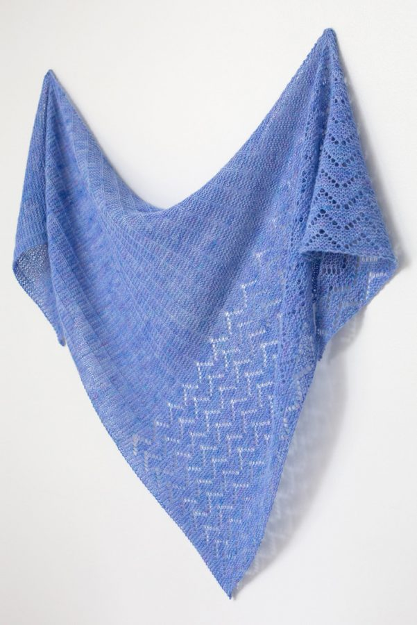 Endless Summer shawl pattern from Woolenberry