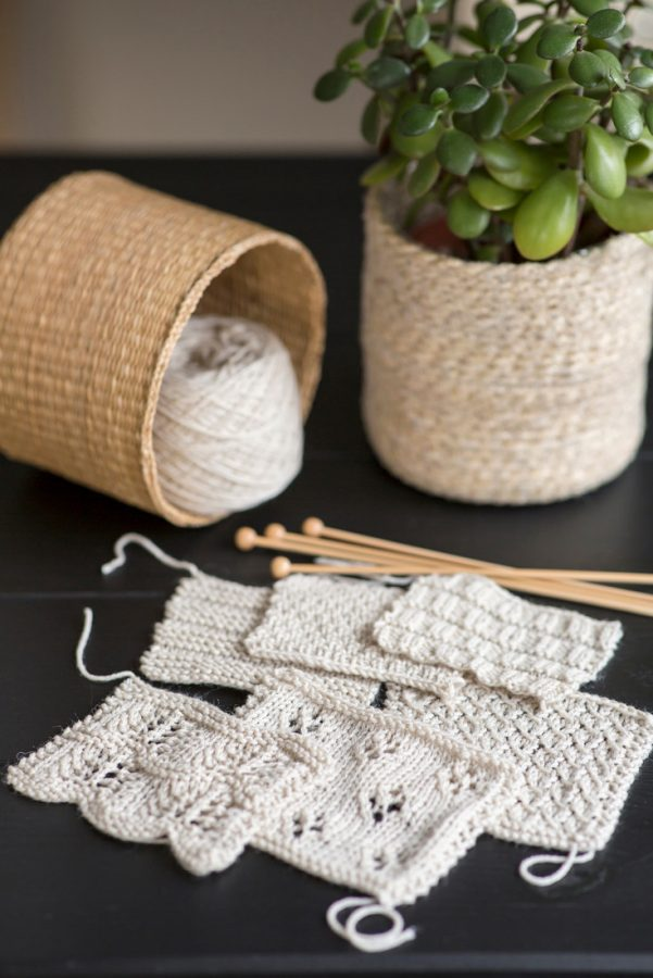 Mix & Match – Rivers shawl pattern collection from Woolenberry