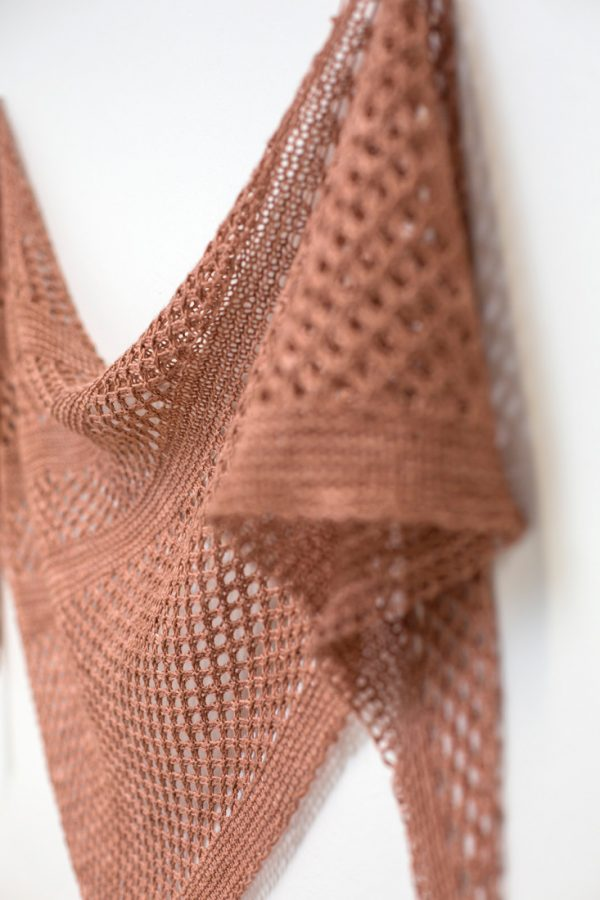 Summer Sky shawl pattern from Woolenberry