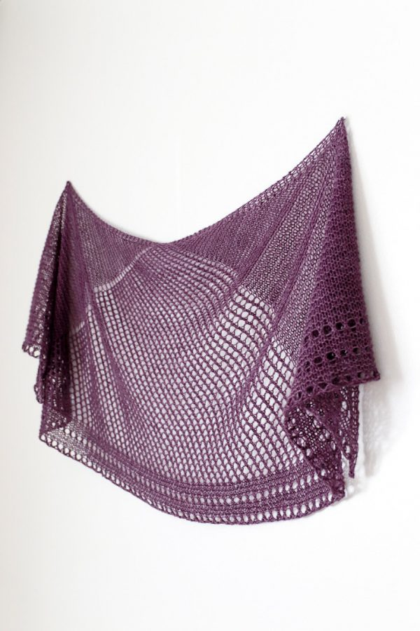Cobblestone shawl pattern from Woolenberry.