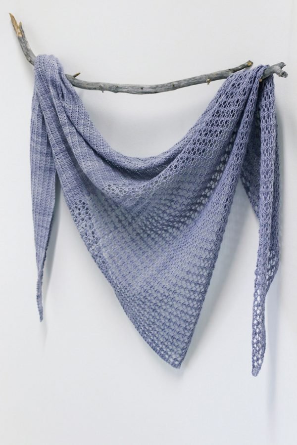 Thames shawl pattern from Woolenberry