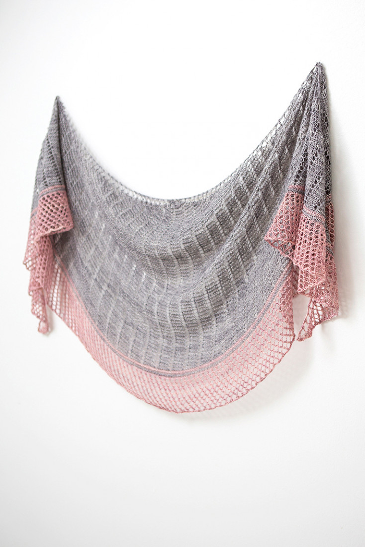Lighthouse shawl pattern from Woolenberry