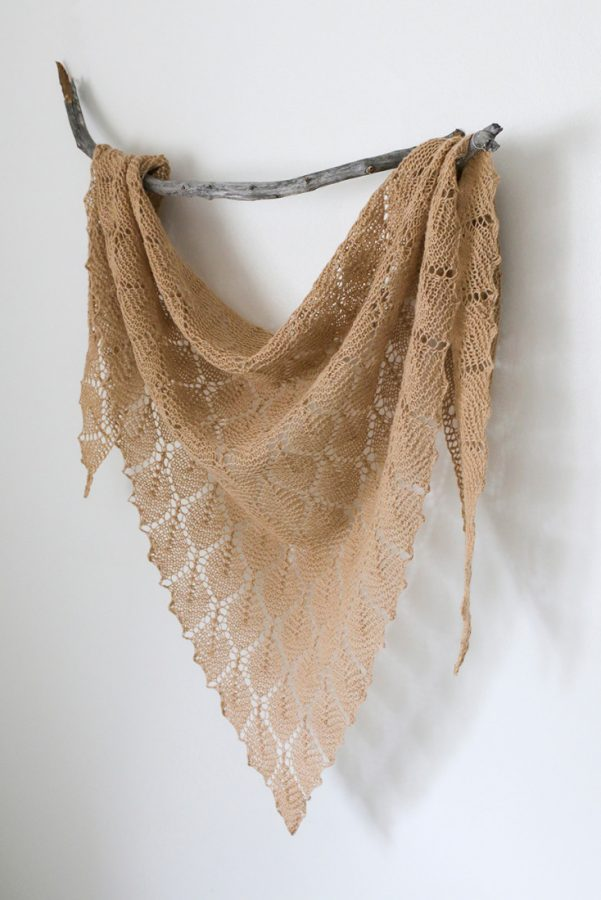 Spring Street shawl pattern from Woolenberry