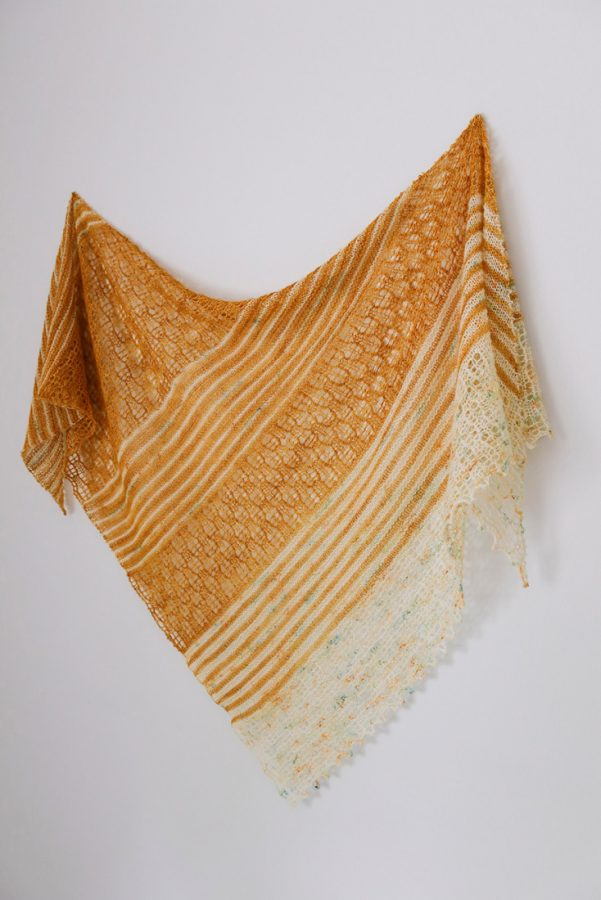Summer Solstice shawl pattern from Woolenberry