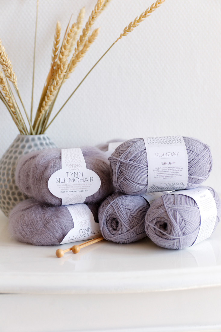 Yarn love: Sandnes Garn Sunday and Tynn Silk Mohair